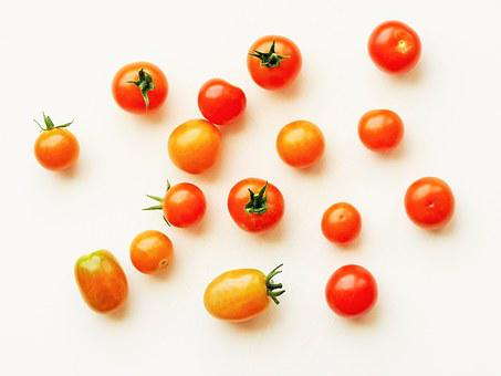 Tomato, Cherry, Grape, Red, Food, Healthy, Fresh