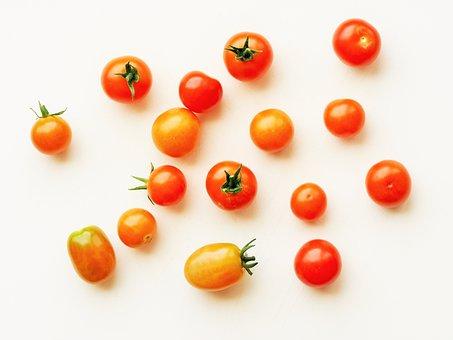 Tomato, Cherry, Grape, Red, Food, Healthy, Fresh