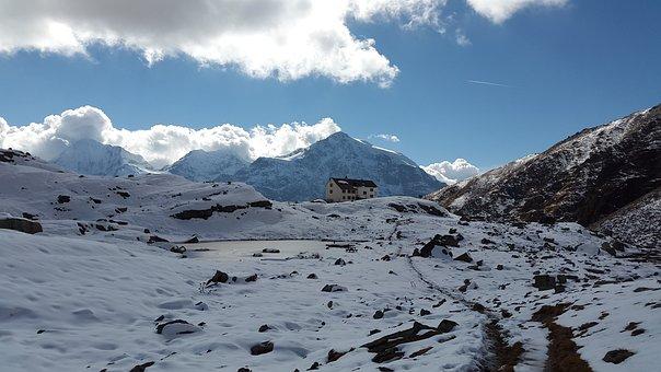 Düsseldorf Refuge, Hut, Alpe, South Tyrol, Alpine