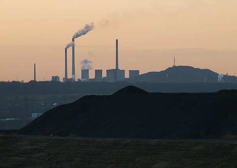 Ruhr Area, Industry, Factory, Industrial Plant, Smoke