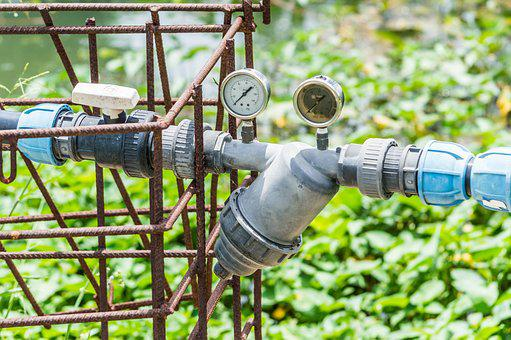 Water, Pump, Irrigation, Agriculture, Old, Field, Rural