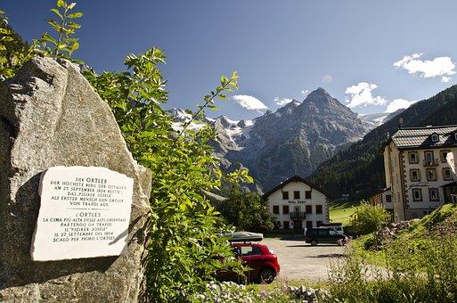 Ortler, Mountains, Italy, The Alps, Stelvio
