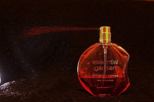 Perfume, Perfume Bottle, Flacon, Light From Below