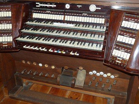 Organ, Instrument, Keyboard, Music, Church Organ