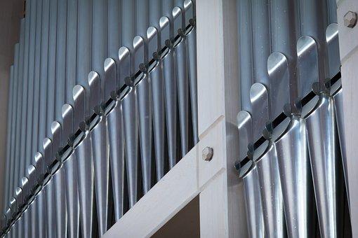 Organ, Organ Whistle, Music, Church, Church Organ