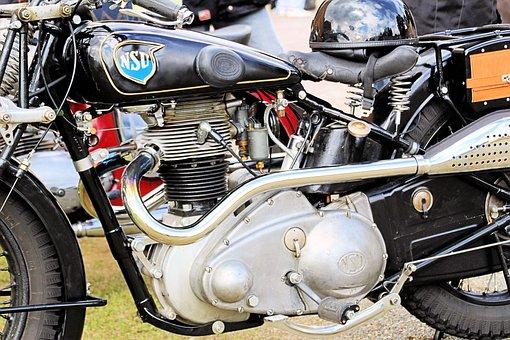 Nsu, 601osl, Motorcycle, Oldtimer, Old Motorcycle