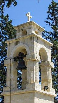 Cyprus, Alaminos, Church, Belfry, Orthodox