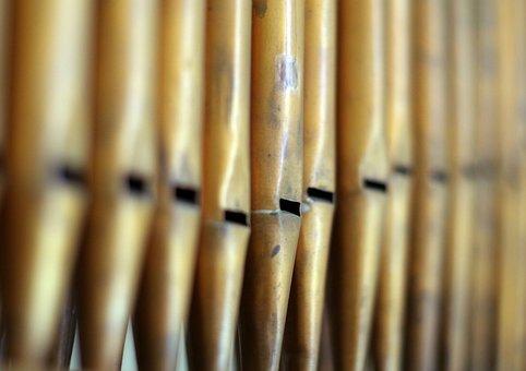 Organ, Pipes, Number, Music, Choir, Church