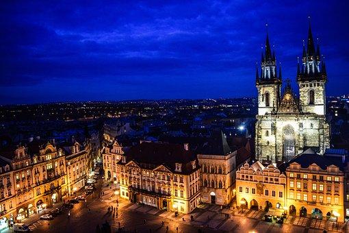 Czech Republic, Prague Castle, Belfry, Travel To Europe