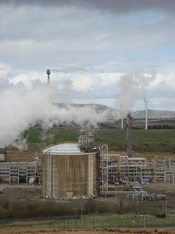 Petrochemical Plant, Refinery, Chemical Plant, Industry