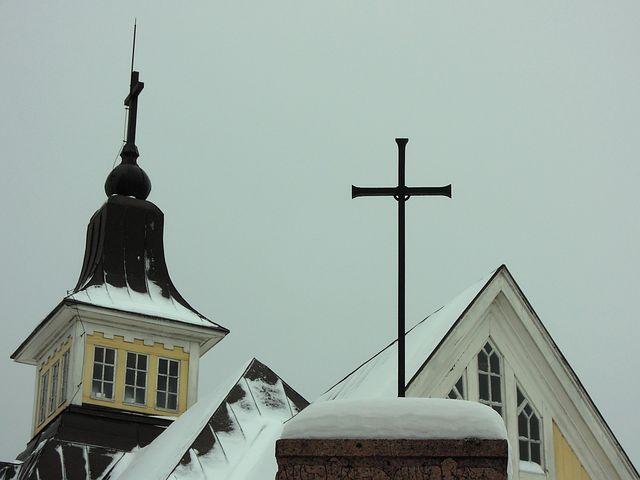 Church, Cross, Christianity, Religion, Architecture