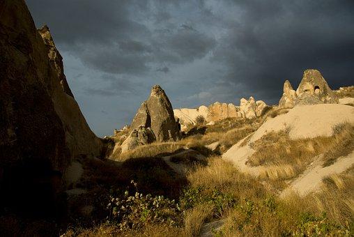 Cappadocia, Göreme, Turkey, Tufa, Rock Formations