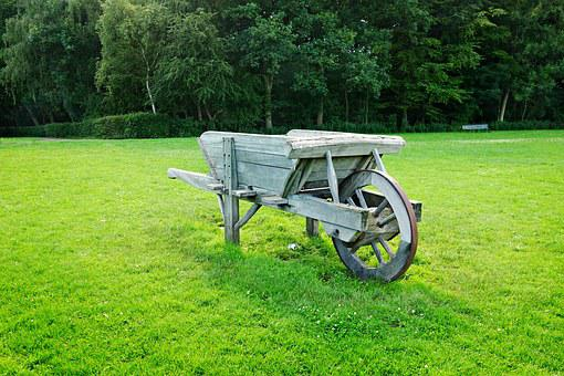 Wheelbarrow, Barrow, Farm, Equipment, Rural