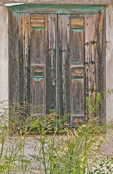 Samos, Greece, Old Window, Nostalgia, Shutters, Wood
