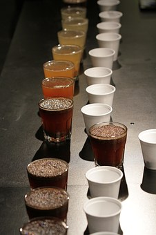 Cupping, Coffee Tasting, Coffee, Scorching