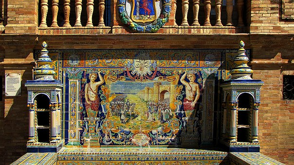 Sevilla, City, Spain, Province Of Badajoz, Picture