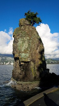 Vancouver, Seawall, Stanley Park, Canada