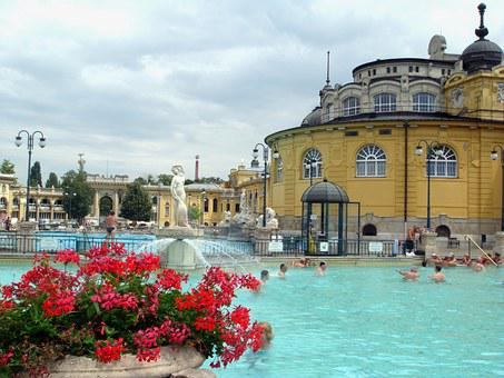 Budapest Spa, Summer, Szechenyi, Bless You, Thermal