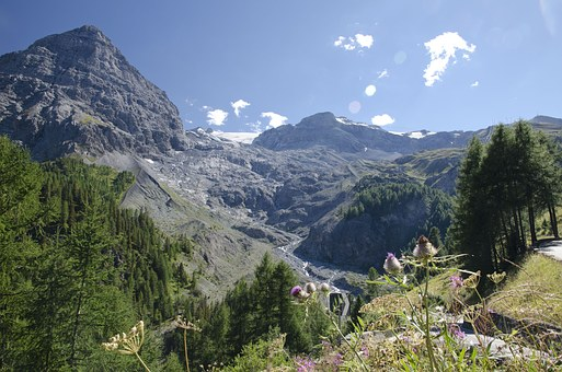 Ortler, Mountains, The Alps, Stelvio, Italy