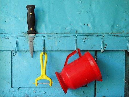 Knife, Color, Tools, Campaign, Potato Peeler