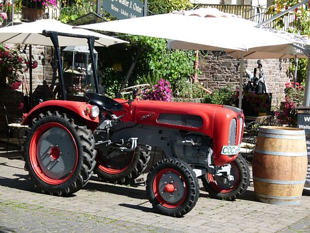 Tractor, Agriculture, Outside, Farm, Agricultural
