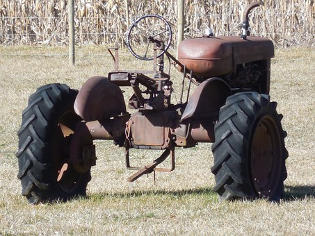 Farm, Tractor, Agriculture, Field, Agricultural