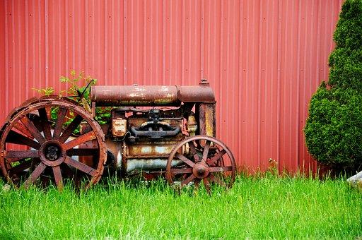 Tractor, Vintage, Farm, Retro, Agriculture, Equipment