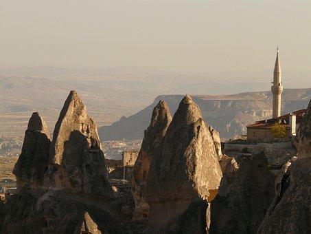 Minaret, Fairy Chimneys, Uchisar, Outlook, Vision