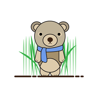 Bear, Teddy, Character, Cute, Animal, Kids, Adorable