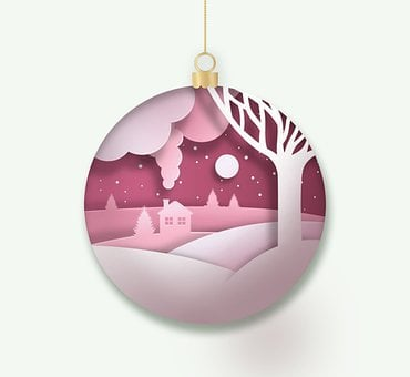 Christmas Ball, Decoration, Christmas