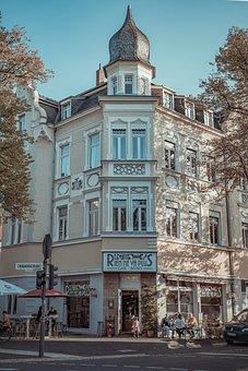 Restaurant, Ice Cream Parlour, City, Street Cafe, Cool