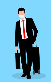 Businessman, Mask, Avatar, Male Avatar, Man, Face Mask