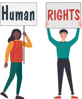Human, Rights, Protest, Men, Women, Race, Equality