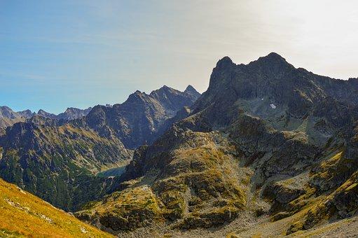 Mountains, Mountain Range, Peak, Summit, Mountainous