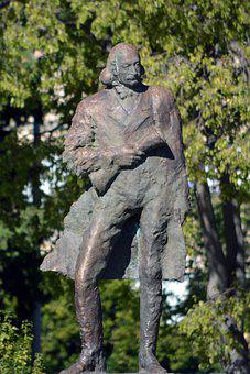 Statue, Sculpture, Monument, Bronze, Historically, Park
