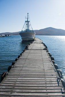 Yacht, Pier, Jetty, Boardwalk, Wooden Planks, Ship