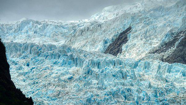 Glacier, Snow Mountains, Mountains, Mountain Range