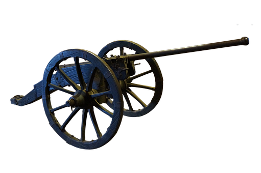Cannon, Ancient, Artillery, Antique, Wagon, Old