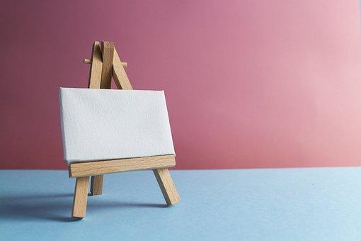 Canvas, Easel, Board, Art, Artist, Class, Creative