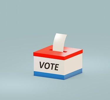 Vote, Ballot, Box, Ballot Box, Icon, Vote Icon