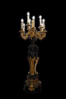 Candles, Holder, Brass, Light, Burn, Flame, Candlestick
