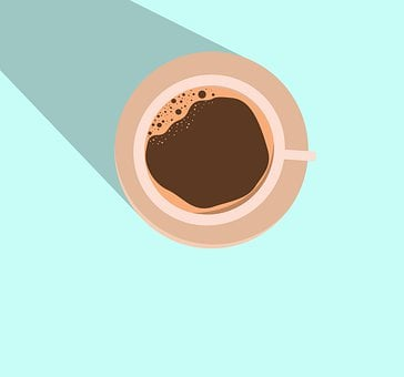 Coffee, Mug, Cup, Drink, Beverage, Shadow, Design