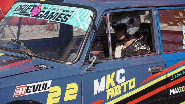 Driver, Car, Vehicle, Race, Racing, Pilot, Machine