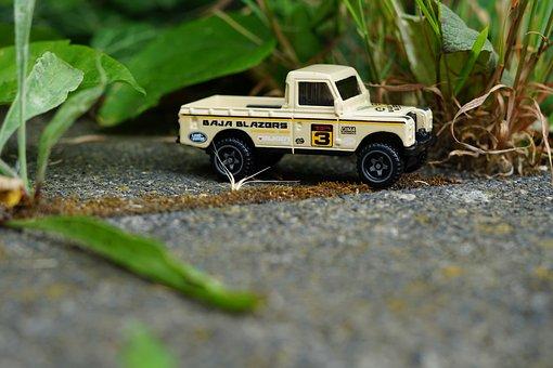 Car, Miniature, Hot Wheels, Toy, Safari