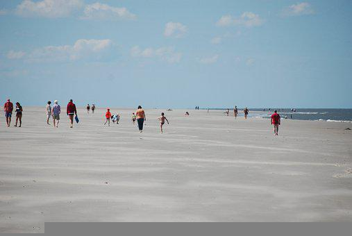 Beach, People, Vacation, Holiday, Sand, Sea, Ocean