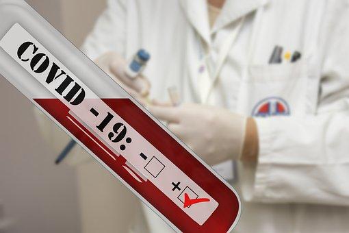 Coronavirus, Covid-19 Positive, Test Tube, Laboratory