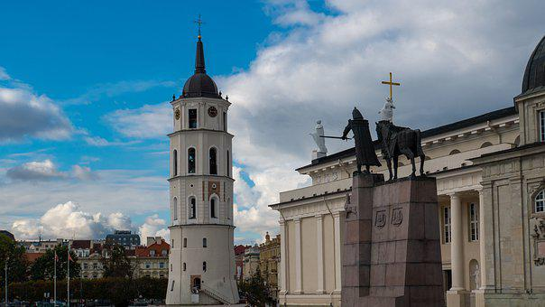 Tower, Cathedral, Architecture, City