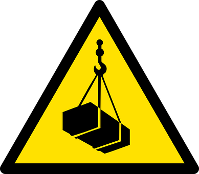 Iso-7010, Safety, Warning, Crane, Suspended-load