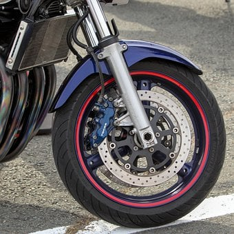 Wheel, Motorcycle, Rim, Motorbike, Big Bike, Chrome