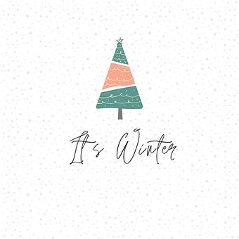 Christmas, Winter, Christmas Tree